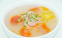 フレッシュトマトのサワースープ