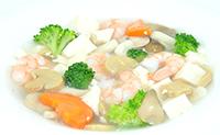 海老と豆腐のとろとろ煮込み