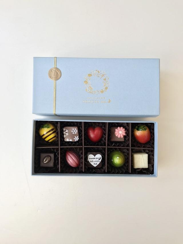 ギフトセット「ショコラギフトボックス各種」商品画像02