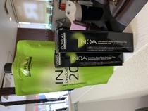 INOA イノア 匂いが無くオイルで染める刺激の少ない グレーカラー
