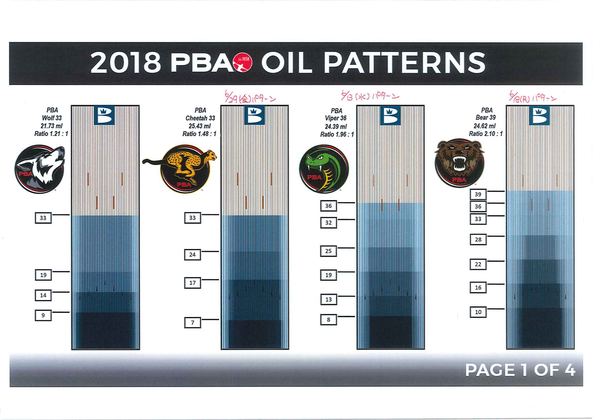 PBAパターン使用大会