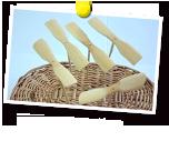 ものさしで作る竹とんぼ