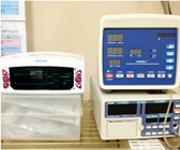 カブのメーターと血圧計